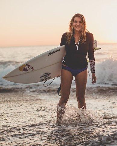 Water: Surf To Sand Rashie $109