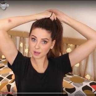 2. Make a ponytail