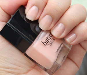 2. Pink Ribbon by Butter London