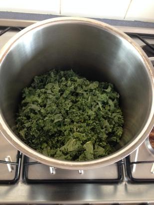 Use a large pot