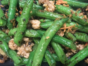 Green beans with minced pork ©sfree