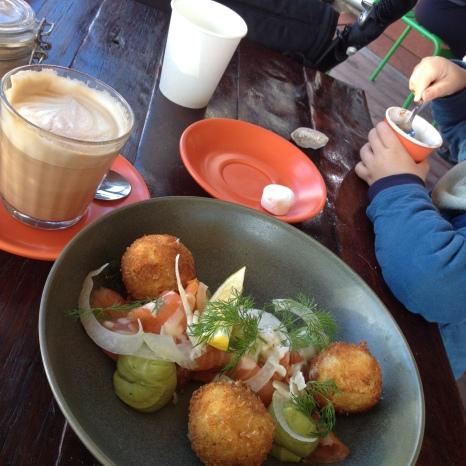 Yummy brunch & coffees © SMR Butterfield
