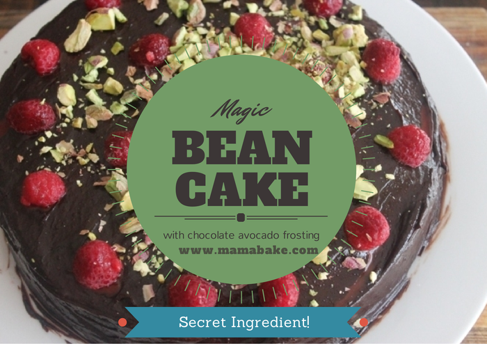 Magic-Bean-Cake-with-Chocolate-Avocado-Frosting