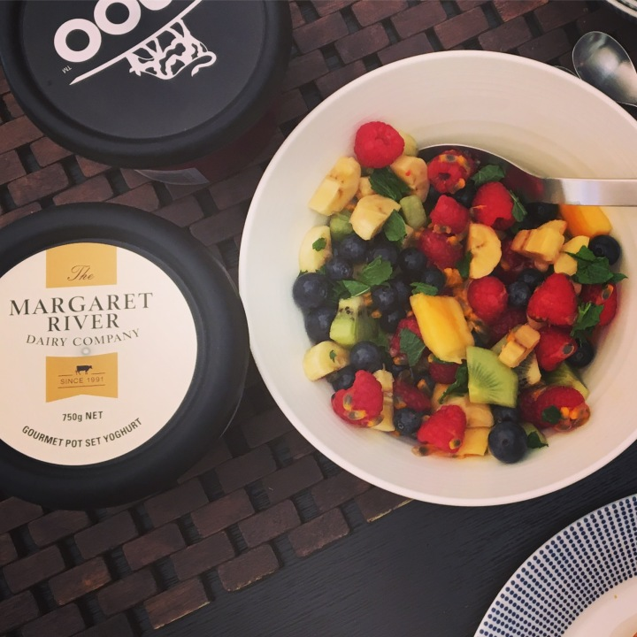 Breakfast Salad with A Little Passion(fruit)
